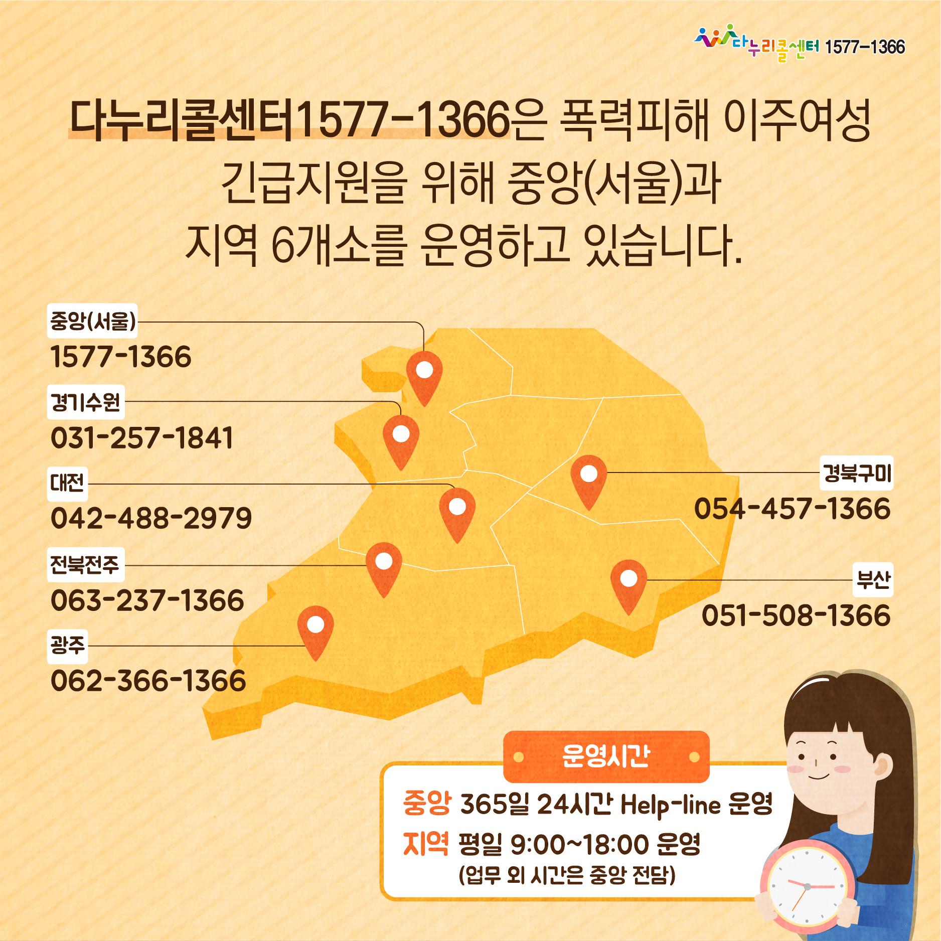 [카드뉴스] 다누리콜센터1577-1366 이주여성 폭력피해 긴급지원 안내(한국어)_10